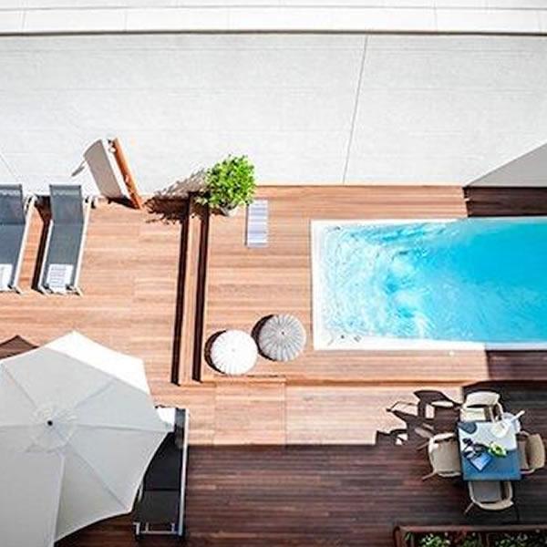 8 tipos de piscina para viviendas